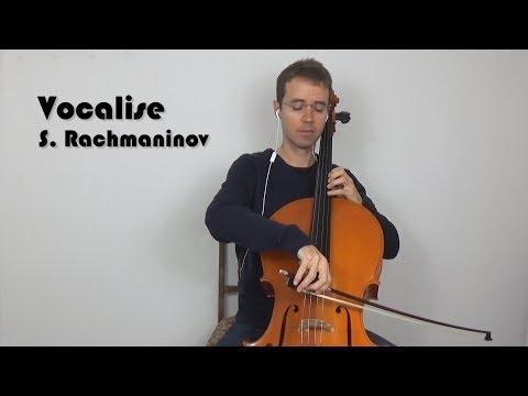 Vocalise for Cello -  S.  Rachmaninov