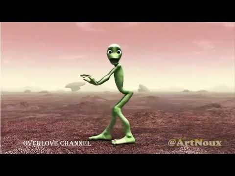 Alien funny bance | bame tu cosita