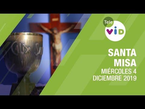Santa misa de hoy ⛪🎄 Miércoles 4 de Diciembre de 2019, Padre Luis Vivó - Tele VID