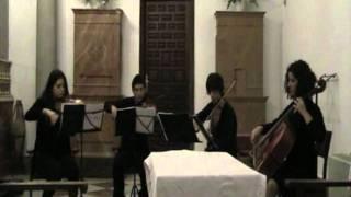 Ave Verum Corpus - Wolfgang Amadeus Mozart (Cuarteto de cuerda