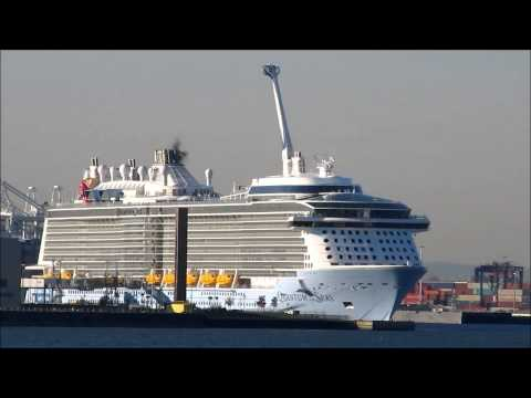 cruise ship Quantum of the Seas at Cape Liberty Bayonne, NJ, Nov 10, 2014