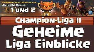 [542] Geheime Champ 2 Liga Einblicke Teil 1 | Runde 1 und 2 | Clash of Clans Deutsch COC