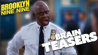 Brain Teasers | Brooklyn Nine-Nine | Comedy Bites