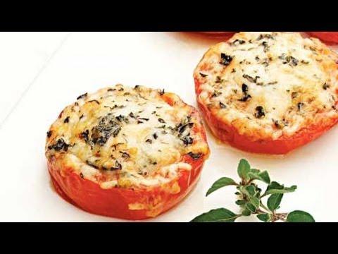 Fresh Tomato Recipe: Baked Parmesan Tomatoes