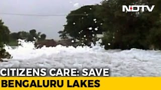 Politicians, Locals Visit Bengaluru Lakes, Take Stock Of Clean-Up Process