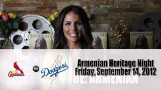 LA Dodgers Armenian Heritage Night - Yerevan Magazine