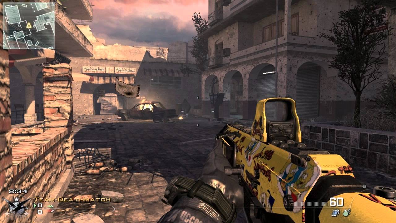 Call of duty modern warfare 2 gun -  Tutorial Call Of Duty Modern Warfare 2 Weapons Mod