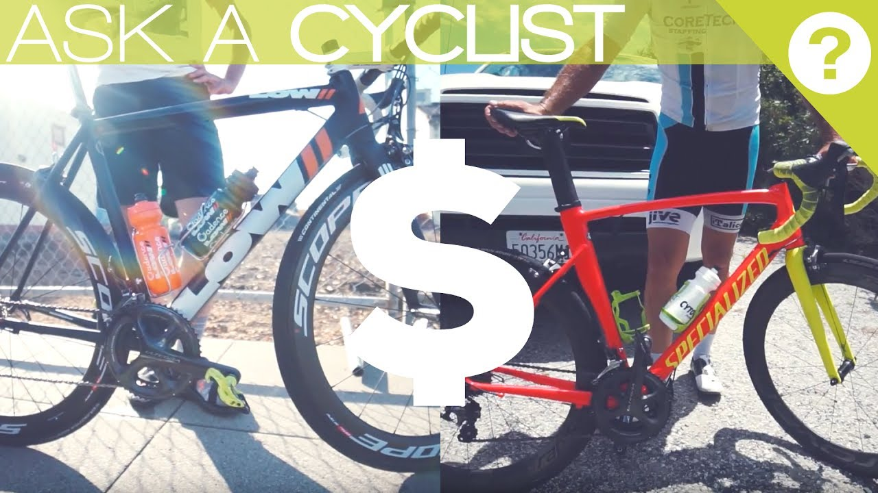 How Much Does Your Race Bike Cost? | Ask A Cyclist - YouTube