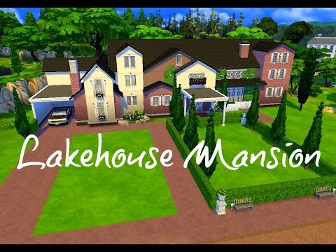 The Sims 4 House Building - Lakehouse Mansion