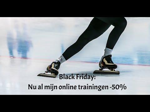 Black Friday: al mijn online trainingen -50 procent