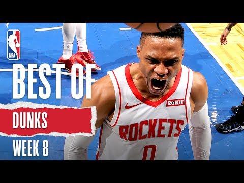NBA's Best Dunks   Week 8   2019-20 NBA Season