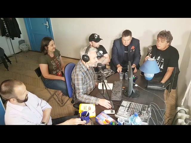 Смотреть видео Эфир на радио Город Кудрово, 26.06.2018