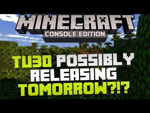 Minecraft Xbox & Playstation: Next Big Update Releasing Tomorrow? | 4J Update Hint!