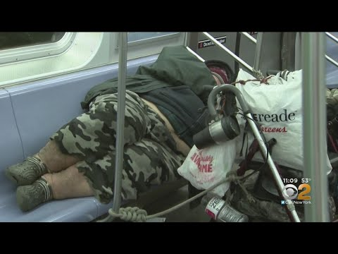 Report Finds Homeless Surge On NYC Subways