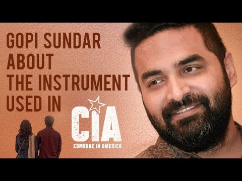Gopi Sundar About The Instrument Used in Comrade In America ( CIA )  |  Dulquer Salmaan