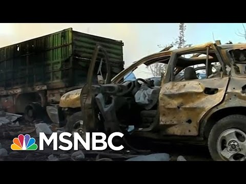 UN Suspends Aid In Syria After Airstrikes | Andrea Mitchell | MSNBC