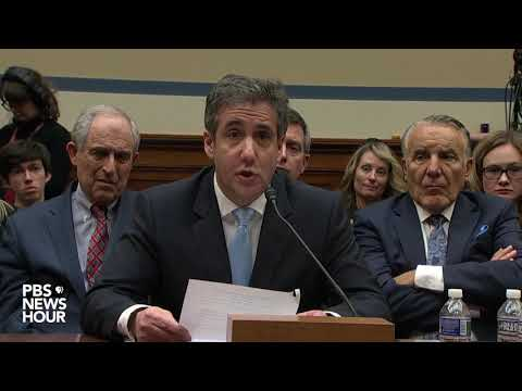WATCH: Cohen says if Trump loses 2020 election, there won
