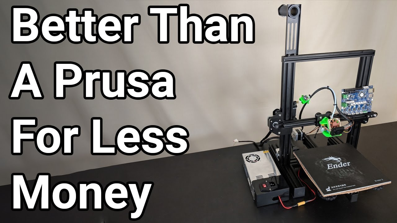 photo relating to Ender 3 Printable Upgrades identify Upgrading the Creality Ender 3 with Duet Wi-Fi, and other include-ons - section 1