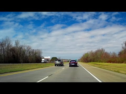 Outtake #4 - Unmarked Louisiana State Trooper, Speeder -- Instant Karma