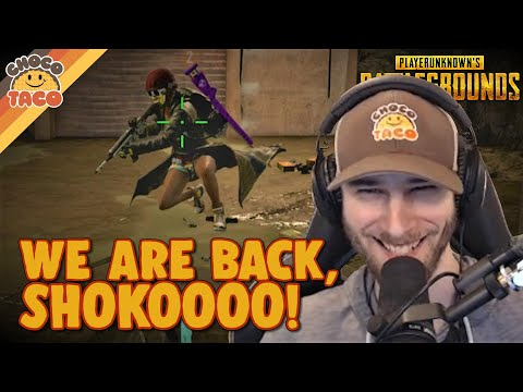 We've Missed You, A1RM4X - ChocoTaco PUBG Gameplay