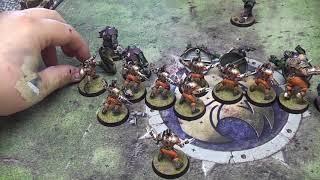 Blood Bowl Match Human Vs Orcs