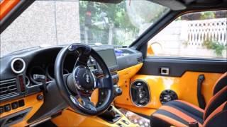 тюнинг салона автомобиля иж 2717 своими руками