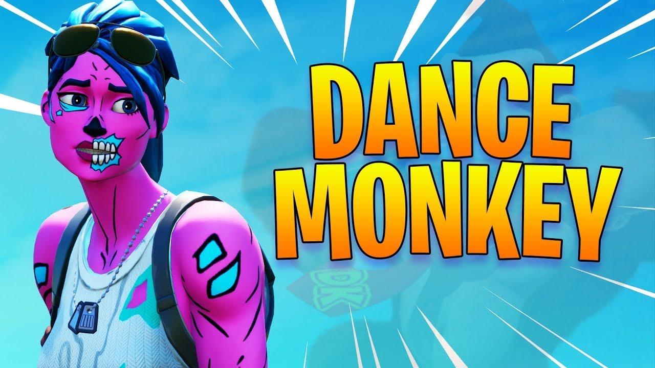 Fortnite Montage DANCE MONKEY - YouTube