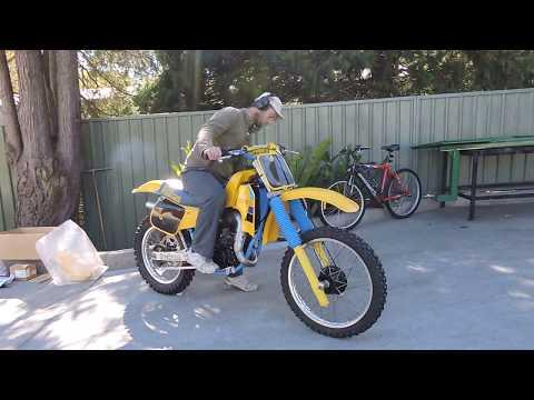 Suzuki 125 motocross bike for sale