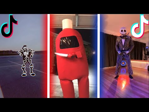 Tik Tok Spooky Scary Skeletons Season 2020 Dance Compilation Halloween 2020