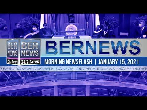 Bermuda Newsflash For Friday, Jan 15, 2021