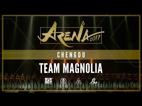 [1ST PLACE] TEAM MAGNOLIA   ARENA CHENGDU 2017 [@VIBRVNCY 4K] #arenachengdu