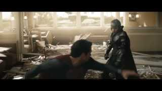 Man of Steel Superman Fights the Sub Commanders 720p