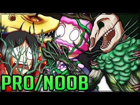 ANCIENT LESHEN LESSON - New Monster - Pro and Noob VS Monster Hunter World Multiplayer! #mhw thumbnail