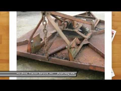 Bush Hog 406 Cookeville Tn 6626408 Youtube