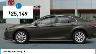2018 Toyota Camry LE Maplewood, St Paul, Minneapolis, Brooklyn Park, MN J12103