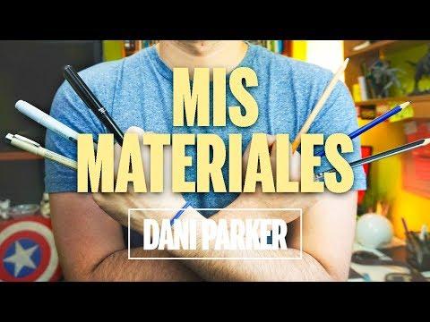 MIS MATERIALES DE DIBUJO | DANI PARKER