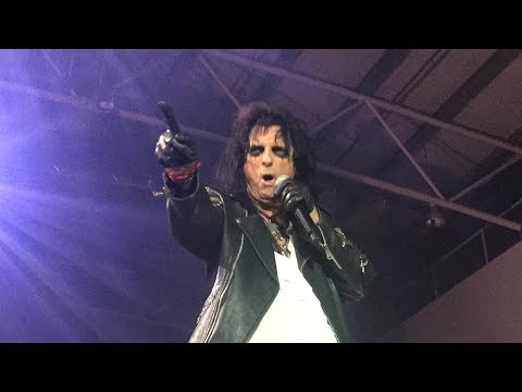 spend the night with alice cooper tour 27 oct 2017 the trusts arena new zealand