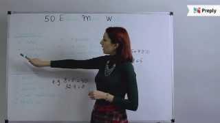 50 «математических» английских слов - 50 English Math Words