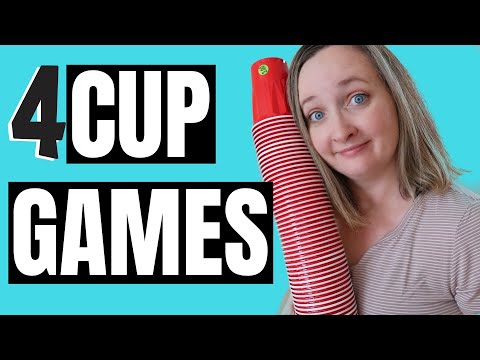 4 Fun Party Games With Cups