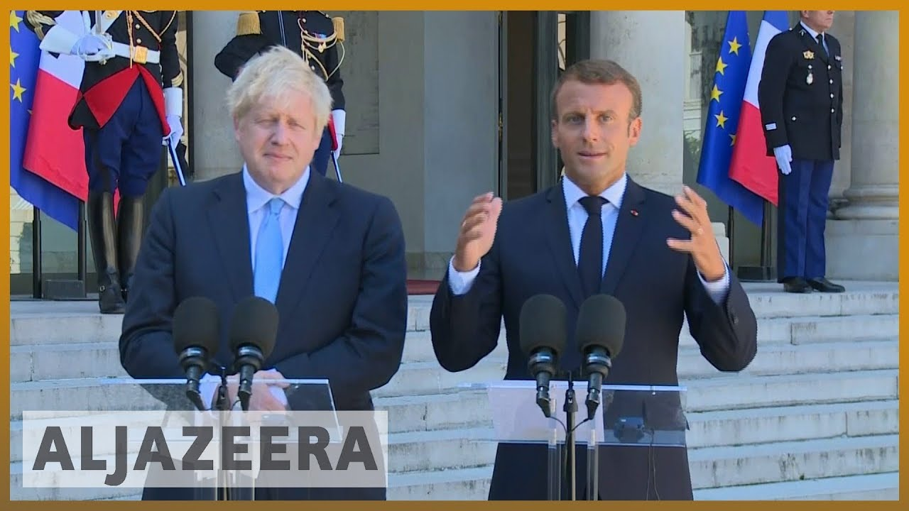 AlJazeera English:Macron: There is no time to negotiate new Brexit deal