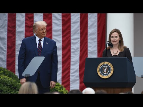 Amy Coney Barrett nominated by Donald Trump for US Supreme Court
