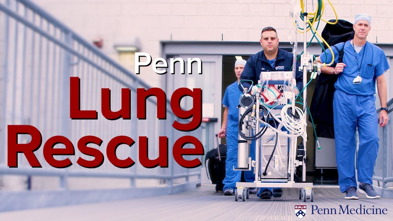 Saving Lives with ECMO: The Lung Rescue Program at Penn Medicine