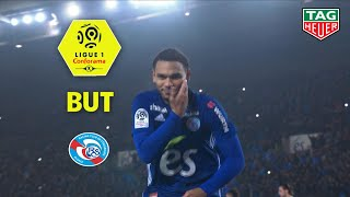 But Kenny LALA (40' pen) / RC Strasbourg Alsace - Paris Saint-Germain (1-1)  (RCSA-PARIS)/ 2018-19