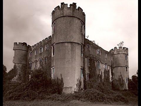 ABANDONED: Castle near Caerphilly with GUNMEN outside