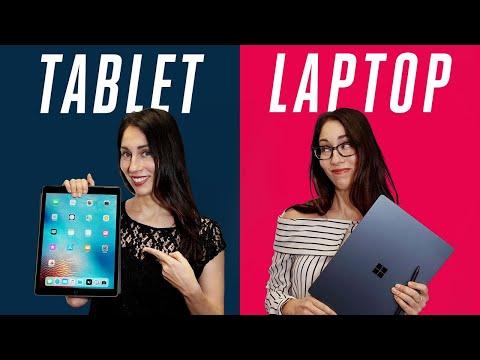 download Tablet vs laptop