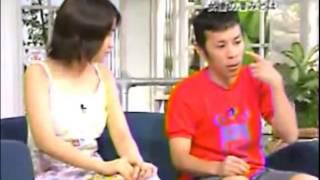 ナインティナイン×池脇千鶴 矢部浩之の髪型を散々にいじる 池脇千鶴 検索動画 3