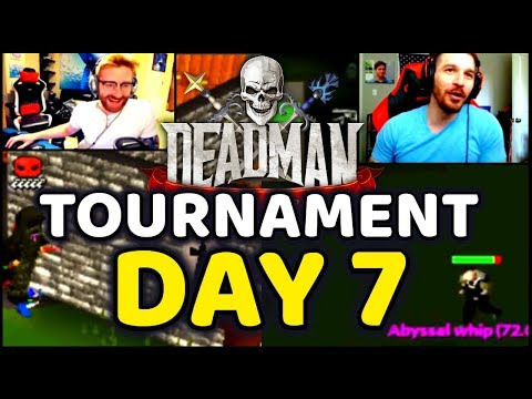 DMM Tournament Streamer Highlights Day 7 OSRS
