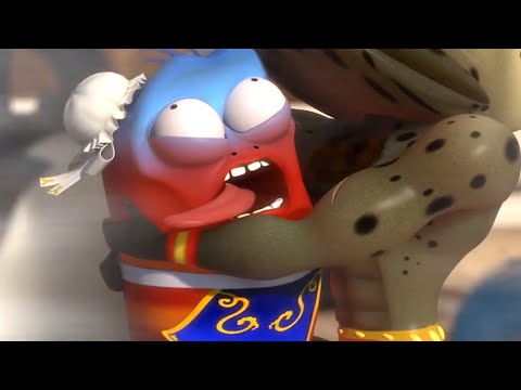 LARVA - STREET FIGHTERS   Larva 2018   Cartoons For Children   Funny Animation   LARVA Official