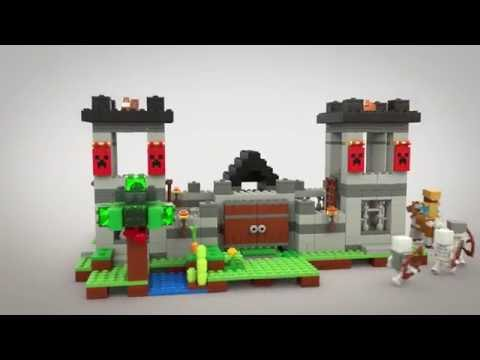 The Fortress - LEGO Minecraft - Model Animation 21127