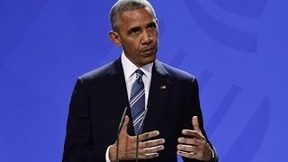 Obama: Protesters shouldn't be silent